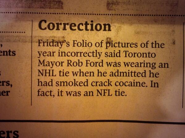 "Glad we cleared that up. ""@zoesasha: An important correction in the @globeandmail today. #TOpoli http://t.co/vqQ3dyGSnN"""