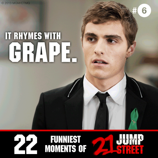 22 Jump Street On Twitter You Know What Happens To A Handsome Guy
