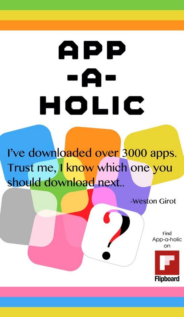 App-a-holic on Twitter