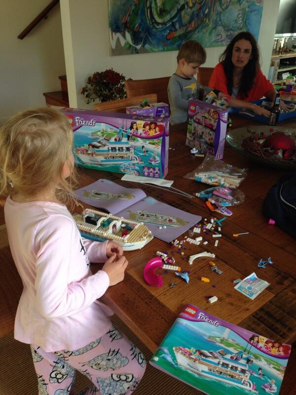 Do I need to buy shares in Lego. This Lego Friends series has been a hit I. Our household this Christmas http://t.co/CY2KS27Fdu