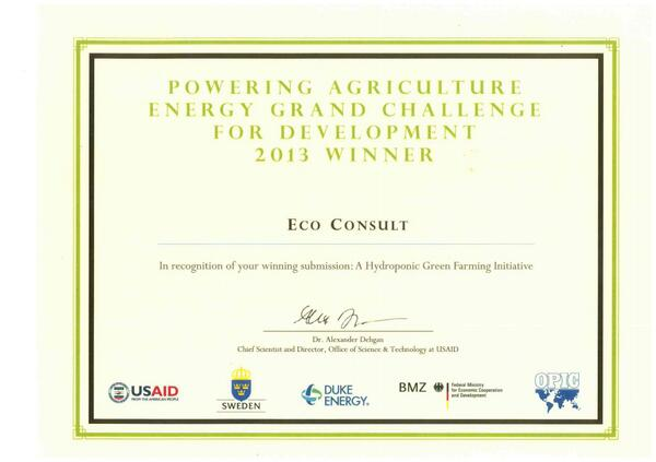 @Ecoconsultjo wins the #Powering #Agriculture #Energy Grand Challenge http://t.co/1lNezPyIxo