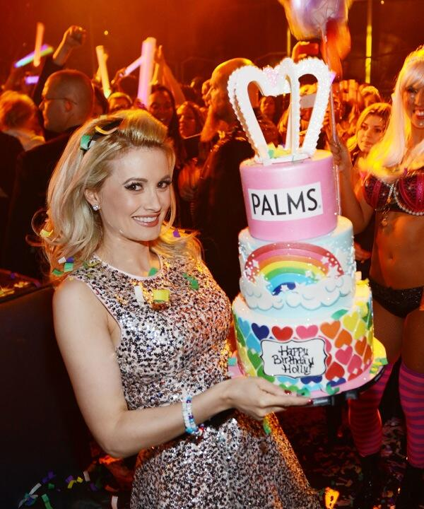 Twitter / Norm_Clarke: Holly Madison celebrated her ...