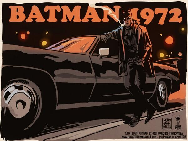 BEST (& GROOVIEST) COMICBOOK OF 2013? (that didn't happen)  BATMAN 1972  RT if you agree :) http://t.co/hkKOQz3VuC http://t.co/dVQdcj4lgv