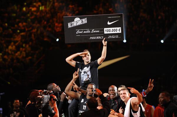 Les All-Stars français conquièrent Bercy
