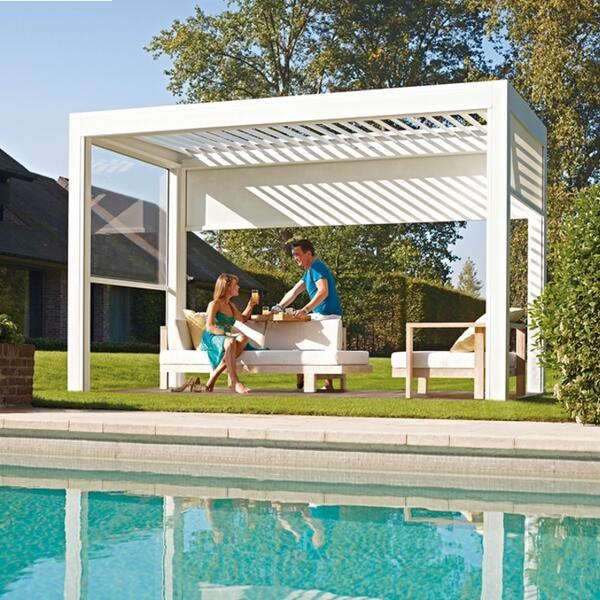 archiproducts on twitter pergola in extruded aluminium with