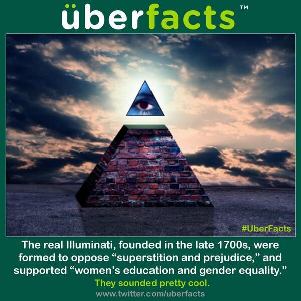 G Dunko On Twitter Uberfacts The Real Illuminati Httpt