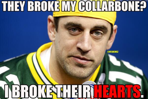 Nfl Memes On Twitter Aaron Rodgers Leads The Green Bay Packers To
