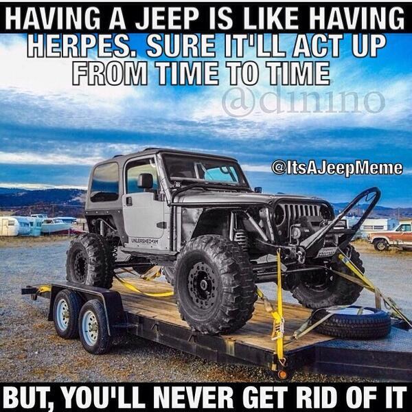 The Five Funniest Jeep Memes - 4WAAM |Jeep Wrangler Memes
