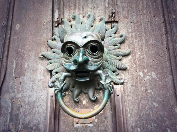 Knocker to Durham cathedral