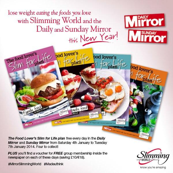Slimming World On Twitter Starting Saturday Get