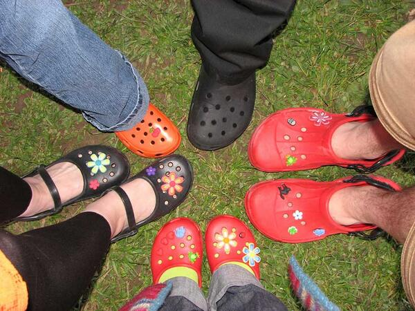 18a6f1f0790 CROCS SHARES SPIKE! Blackstone to invest  200 million in colorful plastic  clogs. Clog-