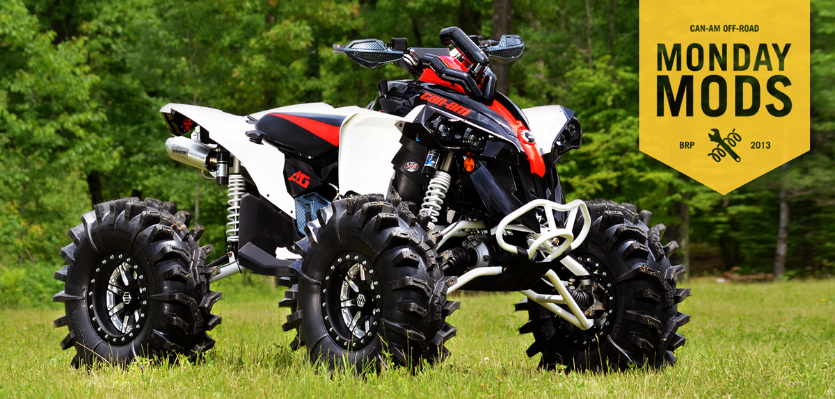 """CanAm on Twitter: """"Monday #Mods: 2013 Can-Am #Renegade ..."""