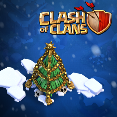 All Coc Christmas Trees.Clash Of Clans On Twitter How Many Xmas Trees Do You Have
