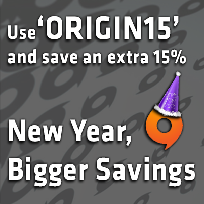 Origin 15%