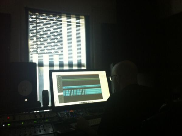 Started on the new record today. http://t.co/co5aKVtGxT