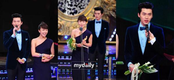 Hyun Bin - Ha Ji Won at 2010 SBS Drama Awards :)) #throwback http://t.co/Vib6djXdxy