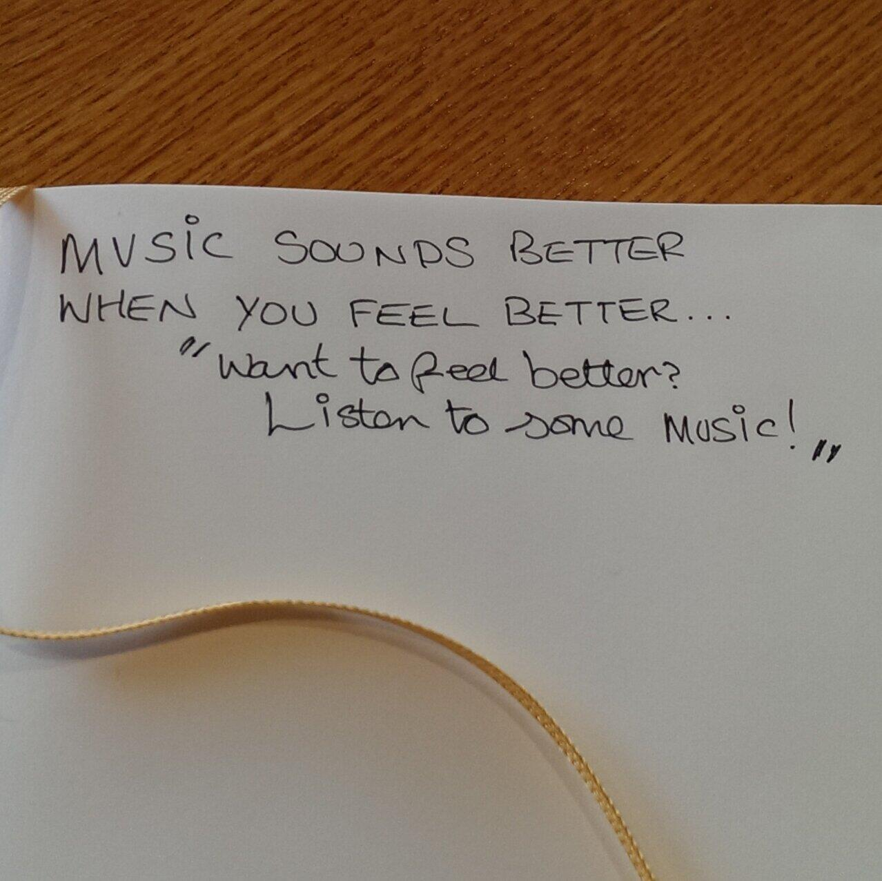 Twitter / JimConnolly: The magic of music... ...