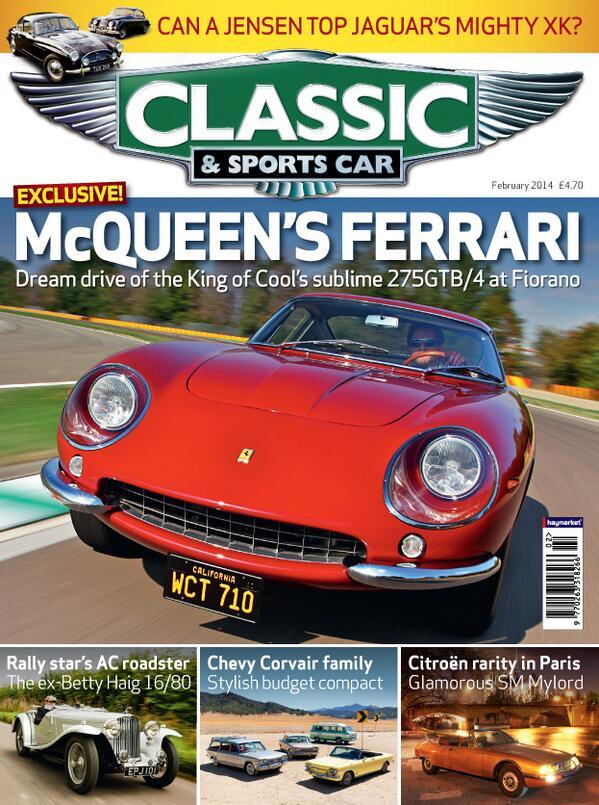 Classic Cars - Magazine cover