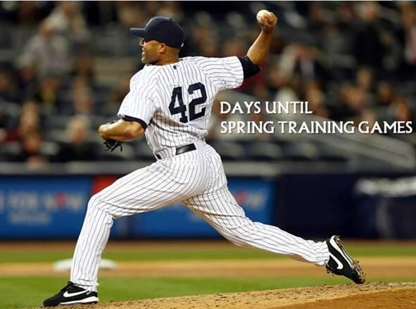 42 days until #SpringTraining games! RETWEET for a chance at a ball signed by retired @Yankees pitcher Mariano Rivera http://t.co/MEJJYdb53w