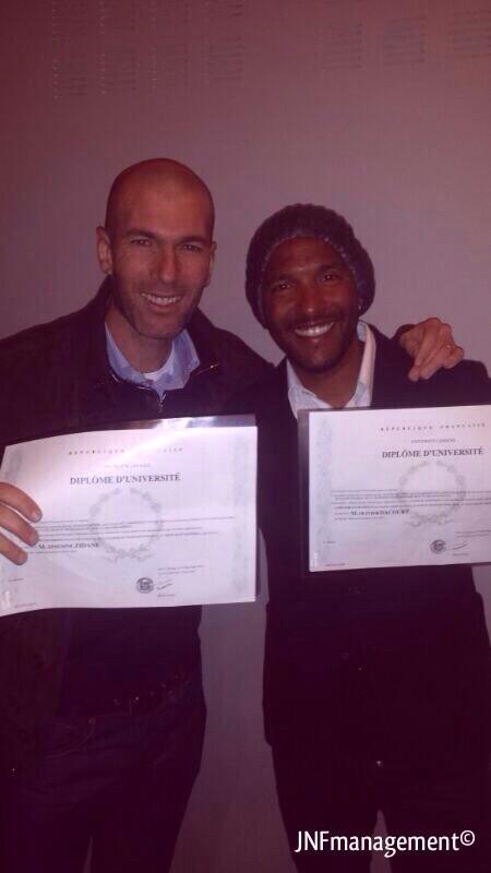 Зидан получил диплом генерального менеджера клуба - изображение 1