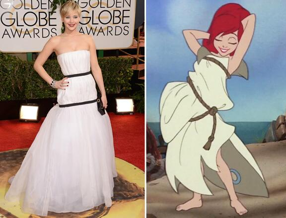 14 Ways Jennifer Lawrence Is a Disney Princess
