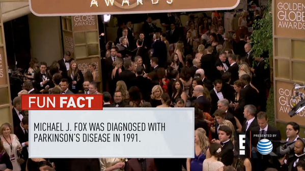 "Jesus. RT @jackseale: ""Fun"" fact about Michael J Fox, courtesy of E! at the Golden Globes: http://t.co/hVBuRTMJrE /via @alucci"