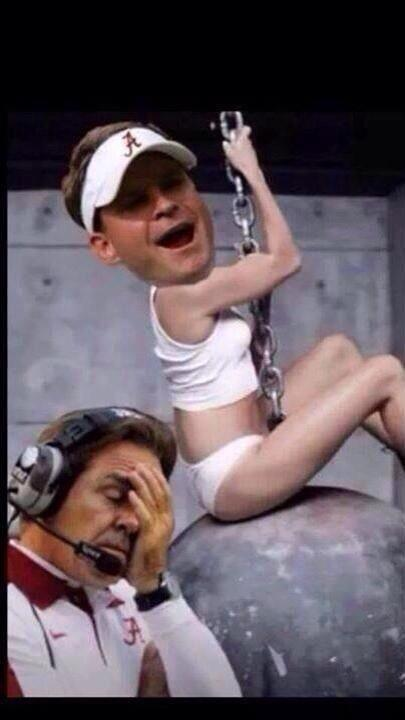 So wrong.RT @JennScottRDH: @BillisKing here's another funny one for you you ready!! ROLL TIDE http://t.co/vwCQERDpVH