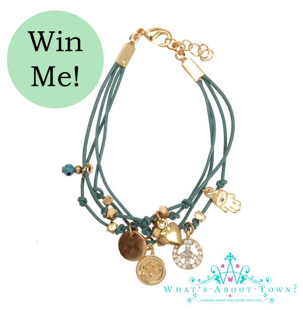 Win this cute Charm Bracelet just RT and Follow ends Monday 20th Jan #win #competition #giveaway #whatsabouttown http://t.co/gwqccoMfVj