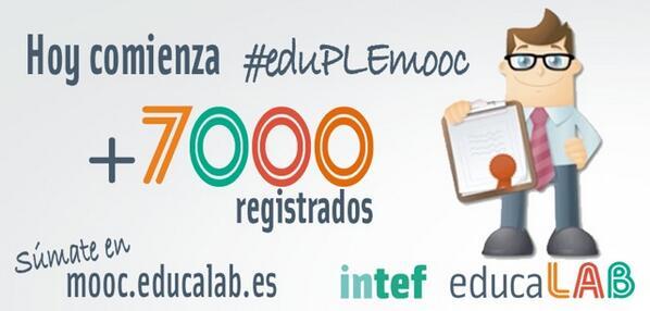 @eduPLEmooc, ¡comenzamos! (Gracias a Visión Líquida https://t.co/d9x9Tq38cH por la imagen ;-) http://t.co/5ByXmNsY3X