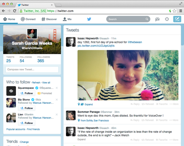Twitter Redesigns Desktop Homepage to Match Its Mobile Apps