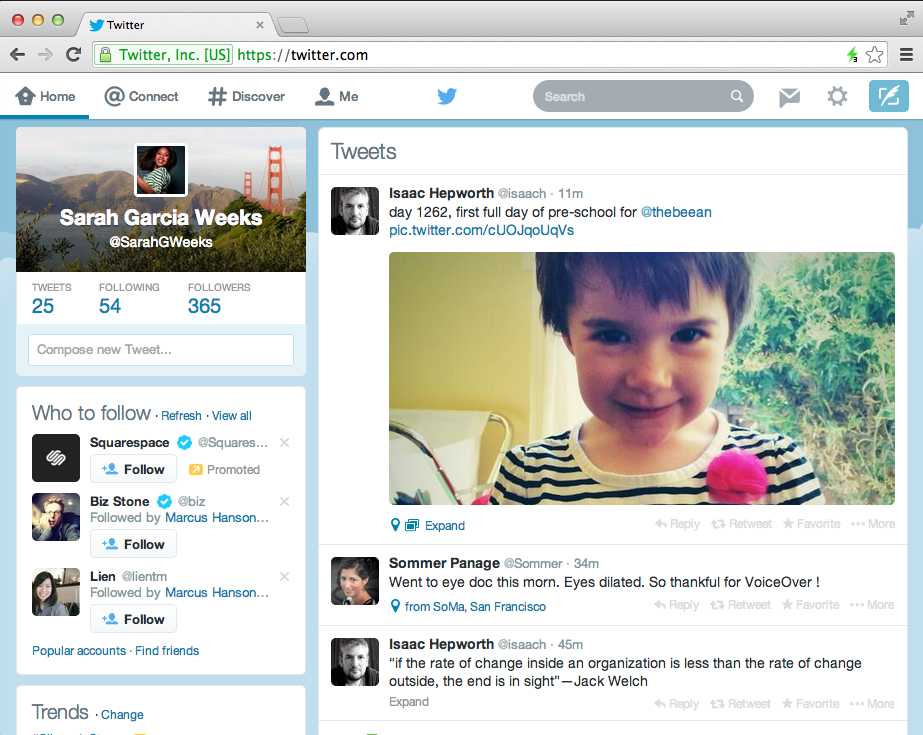 Twitter new look & feel for IOS & Android apps