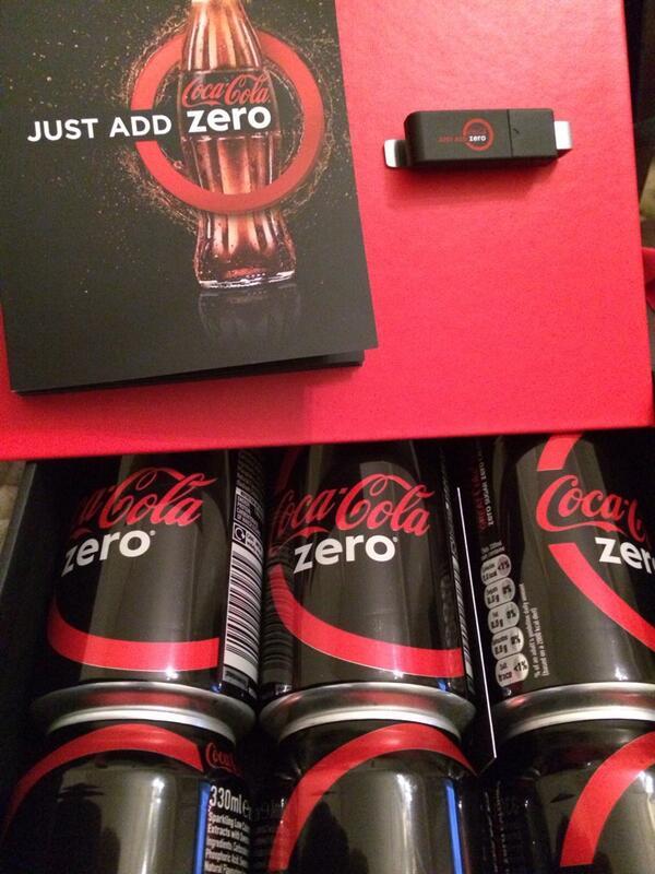 New coke zero cans/ #JustLanded http://t.co/hEK3oFp7CV