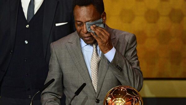 The best pictures and memes from the 2014 Ballon dOr (ft. Messi, Ronaldo, Pele & lots of attractive women)