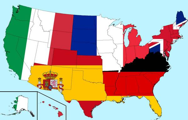 Map Of Spain And Us.Amazing Maps On Twitter Us Population Measured By Italy France