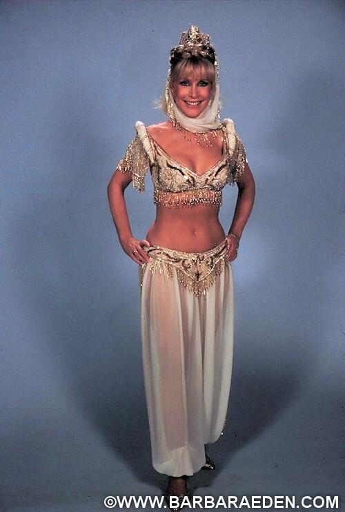 "Barbara Eden on Twitter: ""Barbara wearing the #costume ..."