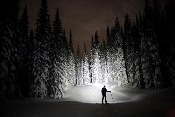 Love it! #skiBC @SilverStarMR RT @bardzima: Last night snowshoeing in #silverstar. #explorebc #explorecanada http://t.co/kYj4FeW34e
