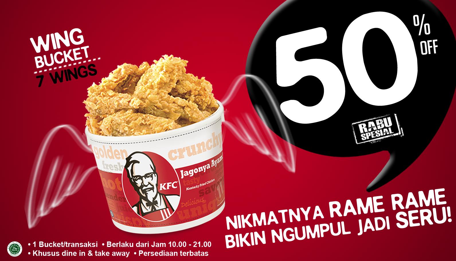Kuliner Ok: KFC Rabu Special 15 Januari 2014