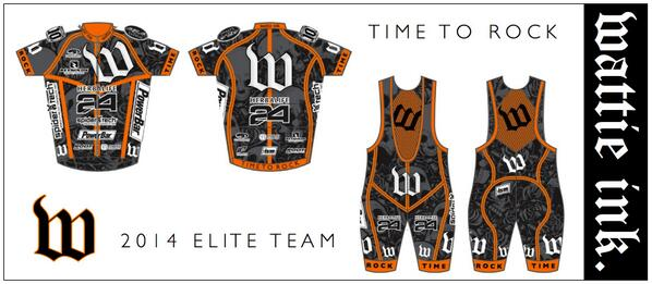 TIME TO ROCK! 2014 Wattie Ink. Elite Team Kits unveiled #rocktheW #timetorock #wattieink http://t.co/MeuxcBIots