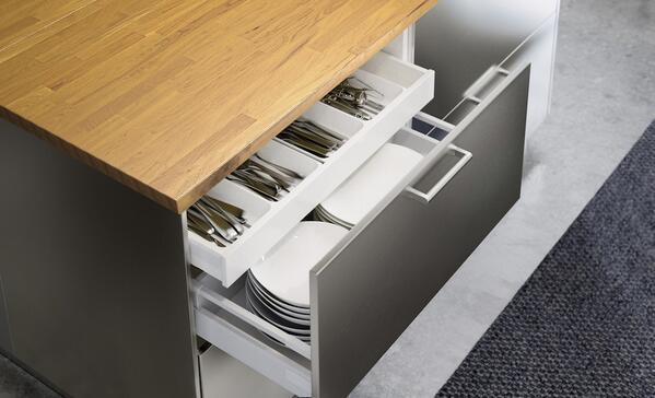 Ikea addict on twitter nouvelles cuisines ikea metod ikeaddict vous p - Pouf de rangement blanc ...