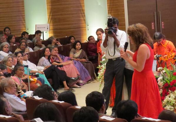 """""""Countries where people have been prosecuted and punished for rapes have lesser rapes"""" says @naomirwolf in Chennai http://t.co/2hqPyUFwSu"""