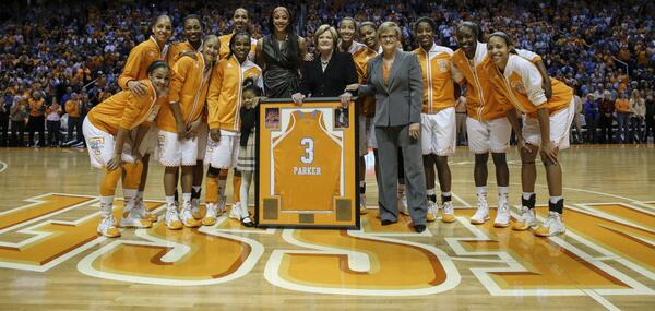Agreed. Great role model for women athletes, great #VFL @LadyVol_Hoops: Special night for @Candace_Parker & #LadyVols http://t.co/mkDfC6Lk6I