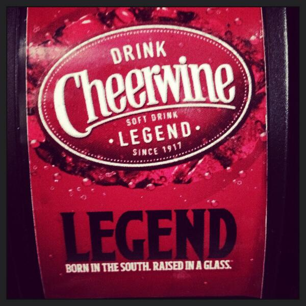 We are excited to announce that we now have @DrinkCheerwine! It goes great with BBQ! #borninthesouth #raisedinaglass http://t.co/KJ5NmXFi7L