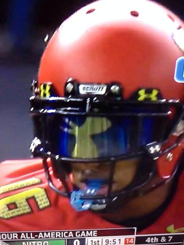 under armour football visor. creston on twitter: \ under armour football visor
