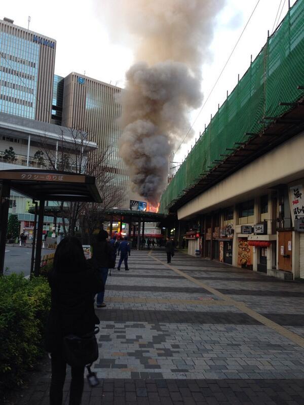 有楽町で火事 電車にも遅れが出そう pic.twitter.com/ZerLUHiIFr