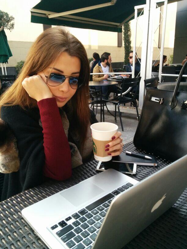بالصور نانسي عجرم تضع اللمسات النهائية على ألبومها الجديد