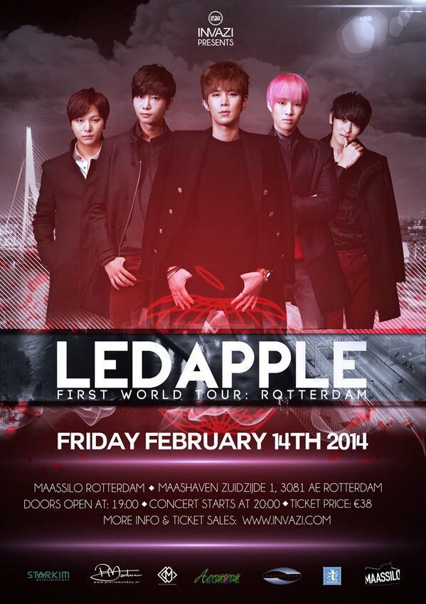 140102 Ledapple Ѽ Poster du concert à Rotterdam ♬ World Tour BdDhgeKCQAE5yJ_