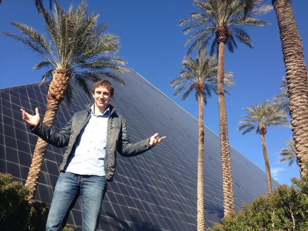 Look at this picture #NMX & #iawtv people. Find him! RT @Amberdesign100: This is Ben out there in Vegas @nmx http://t.co/h3OQgMqU6z