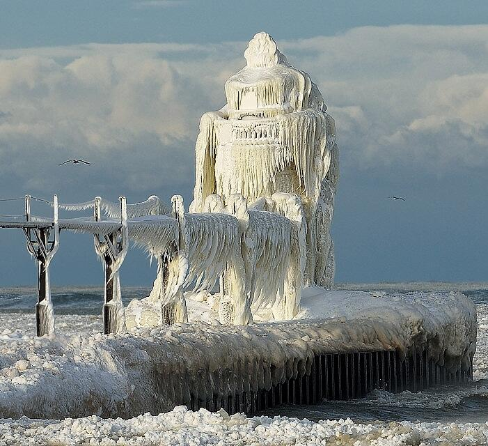 Twitter / TweetSmarter: #Wow ►Lake Michigan Winter ...