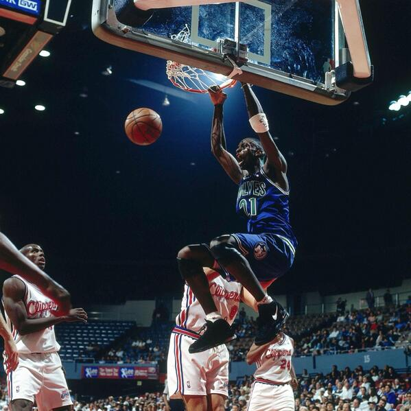 I don't care what anyone says... KG will always be a #twolves guy.  RT @SLAMonline KG Forever #fbf http://t.co/KKFS7NUIZq