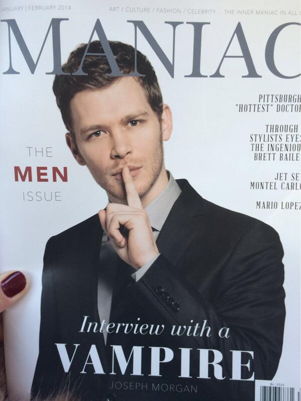 This Friday is extra special and exciting because we have our @JosephMorgan Jan/Feb cover in our hands!! http://t.co/Ye4sjlly5q